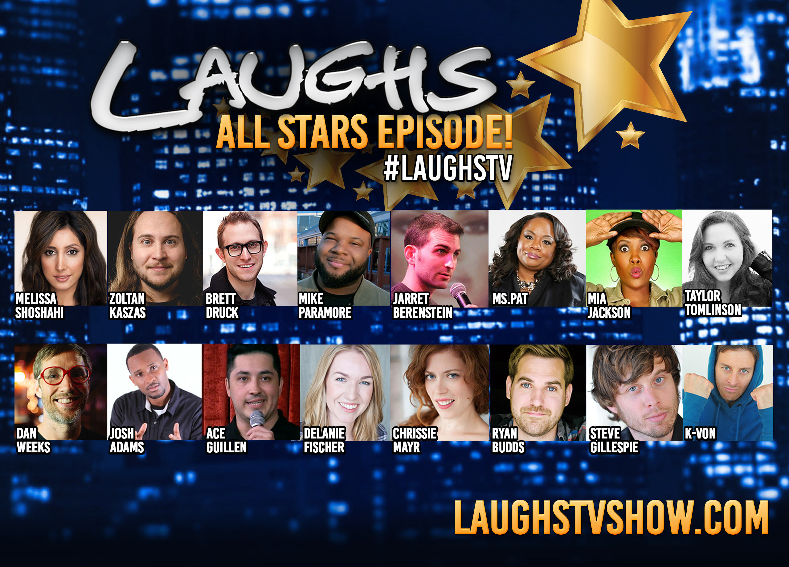 laughs all stars